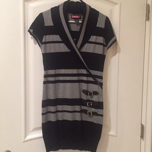 Say what ?Beautiful knitted pencil dress size L